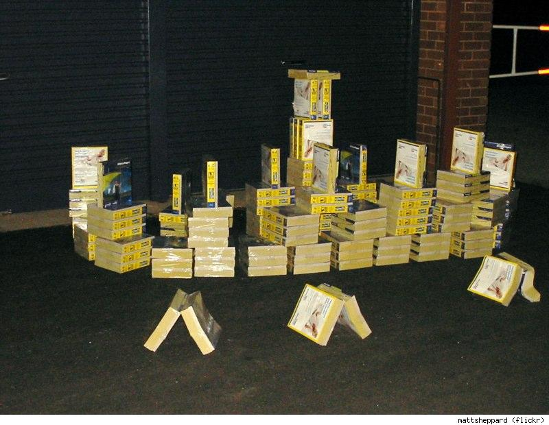 phone book fort