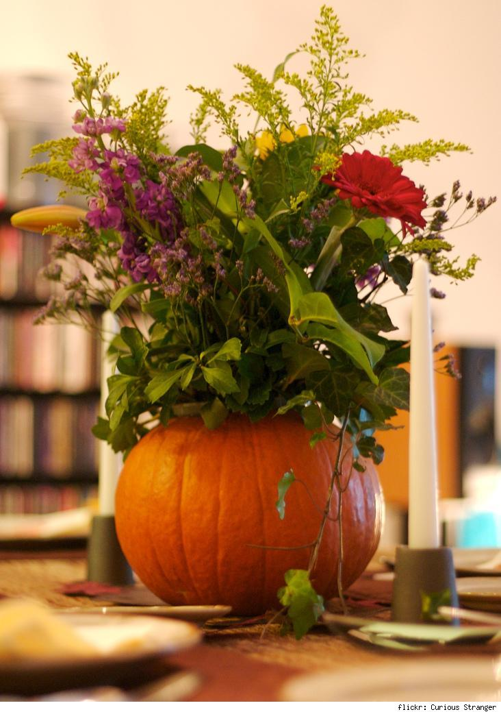 Simple Centerpieces For Thanksgiving