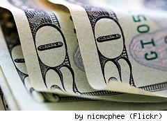 Cash money, by Flickr user NicMcPhee.