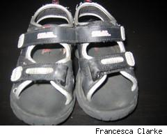light up kids sandals