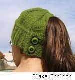 Hannah ponytail hat, by Blake Ehrlich. Fair use size.
