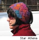 Quant headband by Star Athena, from Knitty, Winter 2007.