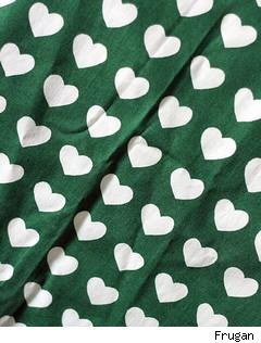 heart fabric