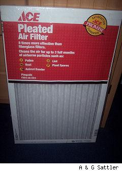 new in package furnace filter