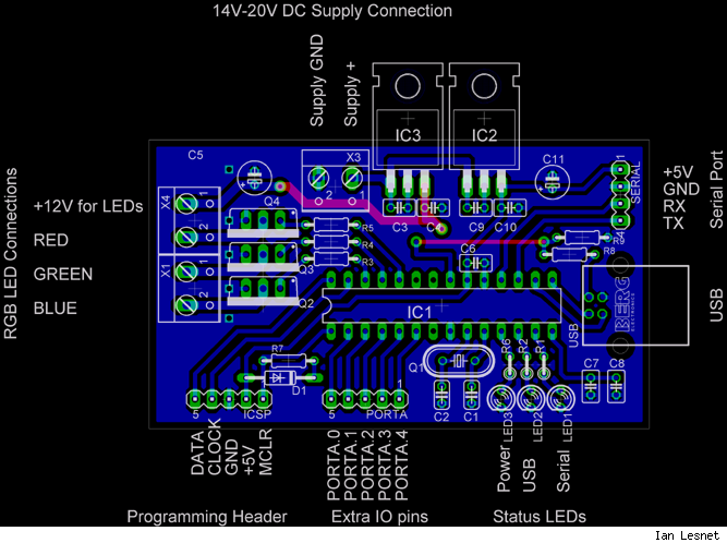 Circuit board layout