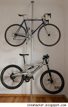 IKEA bike rack