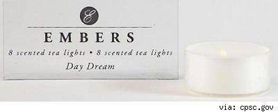 embers tea lights
