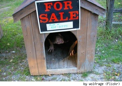 Not a good choice for your first purchase of a house. By Flickr user wolfrage.