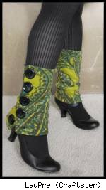 Button-up legwarmers/spats, by LauPre! Fair use size.