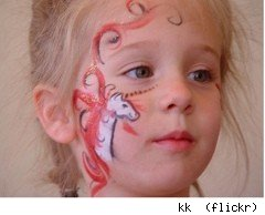 unicorn face paint