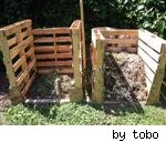compost bins by tobo on Flickr