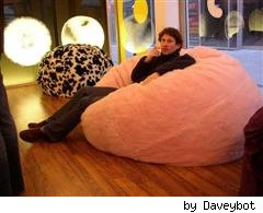 beanbag by Daveybot on Flickr