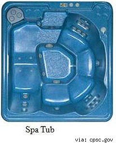 recalled serenity spa hot tub