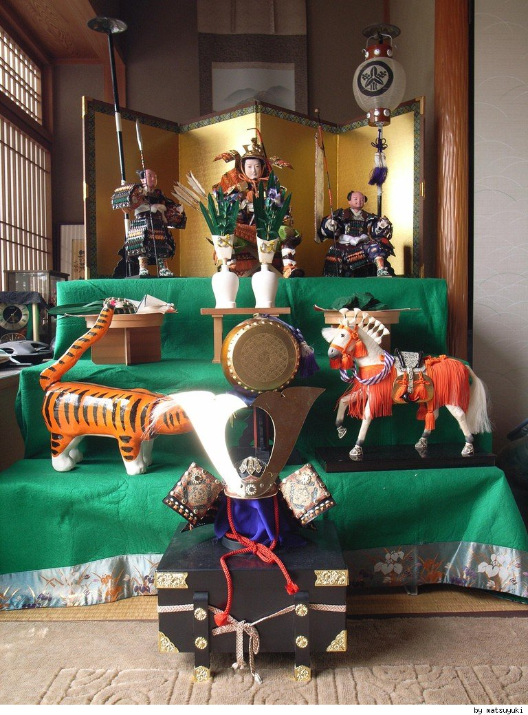 Japanese Samurai Dolls