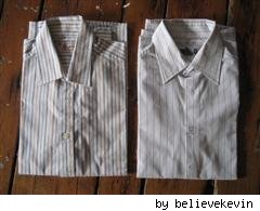 folded dress shirts by believekevin on Flickr