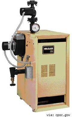 weil-mclain recalled gas boiler