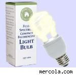 full spectrum light bulb with box