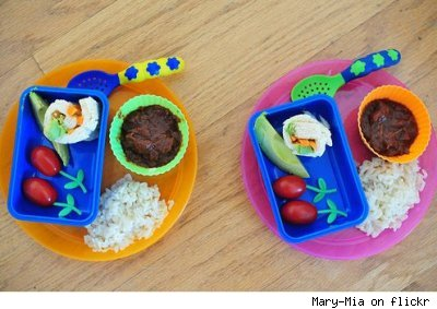 Bento box meals for toddlers