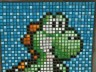 Mario Brothers Yoshi mosaic