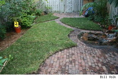 back yard paver patios and walkways