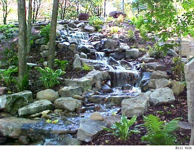 Small pond waterfall ideas memes for Diy small pond with waterfall