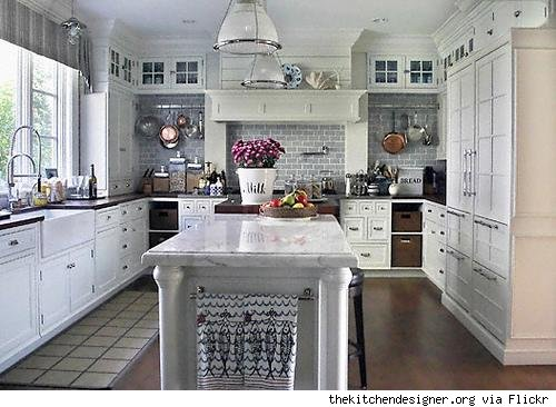 White Kitchen Ideas. Kitchen Design Best 15 Awesome Pictures Black