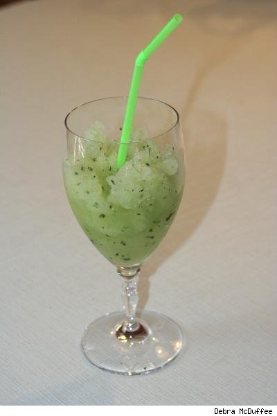 lavender mint slushie