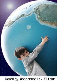 globe, world, earth, child, kid