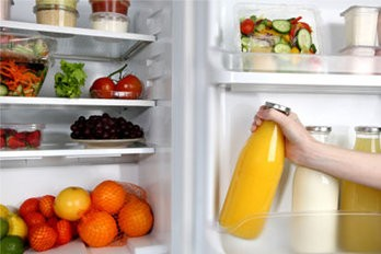 refrigerator, fridge, clean, organization, food