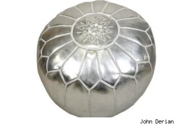 john derian, pouf, decor, pillow