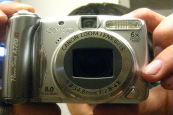 Canon digital camera, source: Flickr