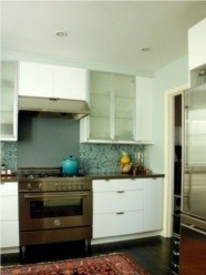 kitchen, backsplash, wallpaper