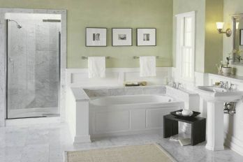 Devonshire bathroom suite by Kohler. Kohler.com.