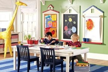 Pottery Barn Kids playroom