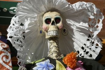 Day of the Dead celebration, Flickr.