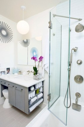 bathroom remodel, modern bathroom