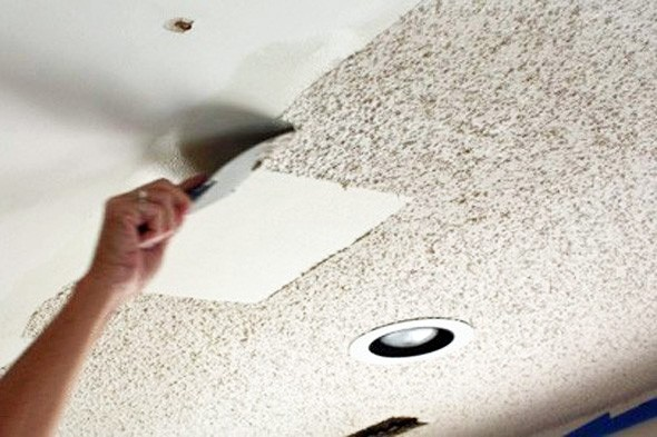 Lightkeepers: DIY Warrior: Remove a Popcorn Ceiling