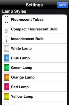 Flashlight iPhone app