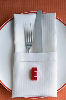 magnetic place setting