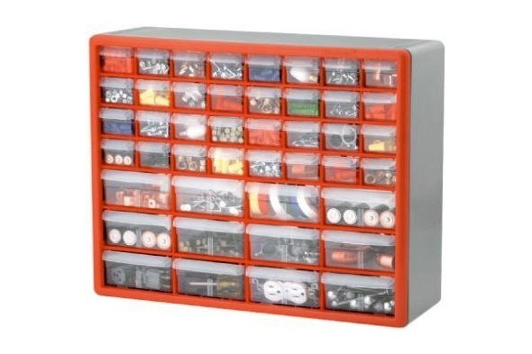 fasteners. workshop organization