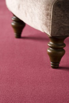 velvet carpeting
