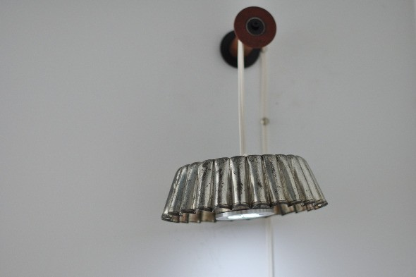 bundt pan pendant lamp