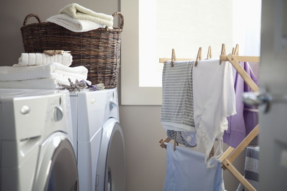 drying clothes, laundry