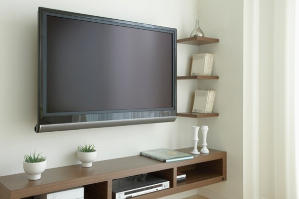 LCD television, TV