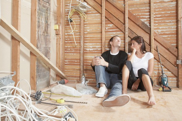 DIY, construction, couple