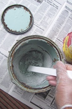 Solidify Latex Paint