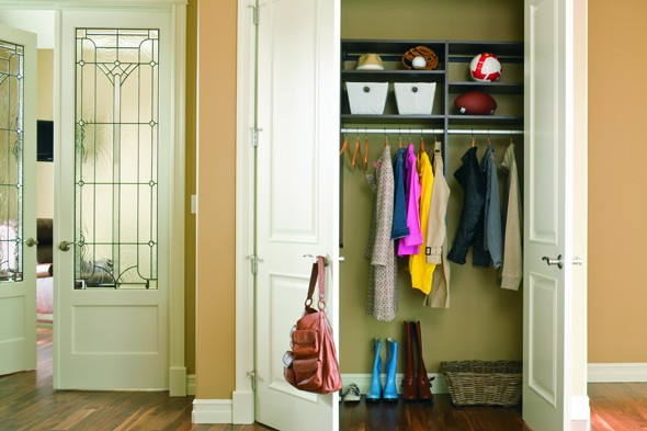 Organize Your Coat Closet - DIY Life