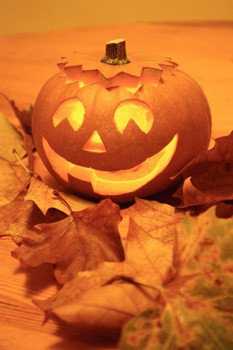 carved pumpkin, jack o lantern