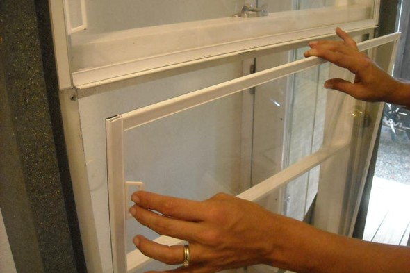How to for Plexiglass interior storm windows
