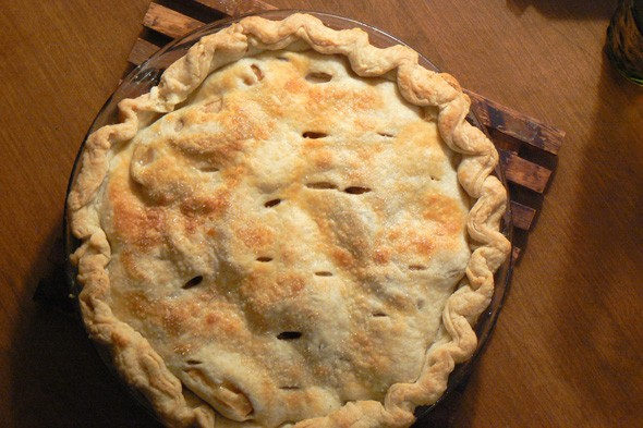 Tip: Use vodka to bake a delicious pie.